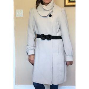 H&M- decorative detail coat